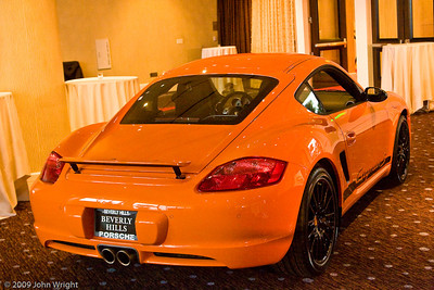 Porsche Cayman S displayed by Beverly Hills Porsche