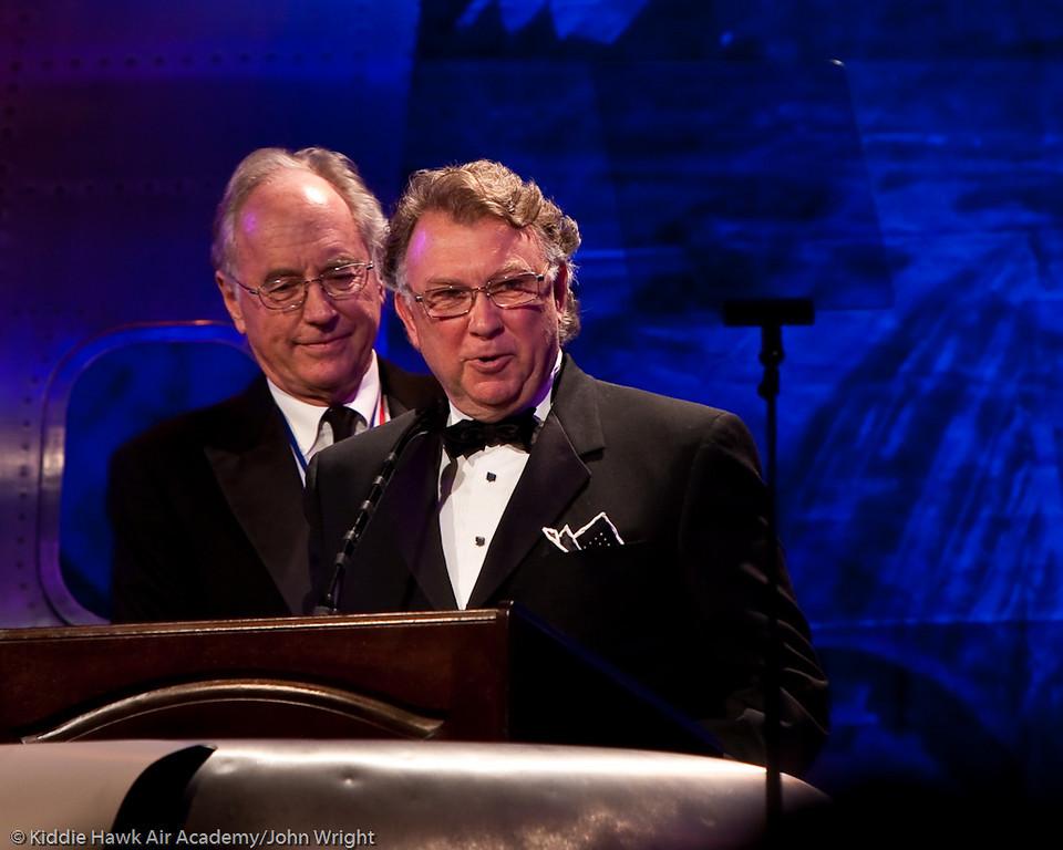 Joe Clark and Brant Dahlfors