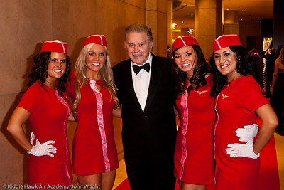 Cliff Robertson and the USA FLight Crew