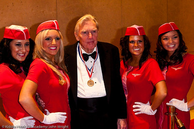 USA Flight Crew and Frank Robinson