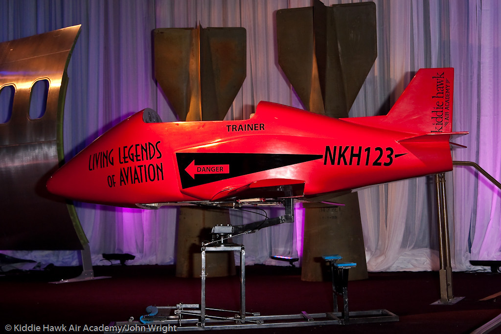 Kiddie Hawk Air Academy jet trainer