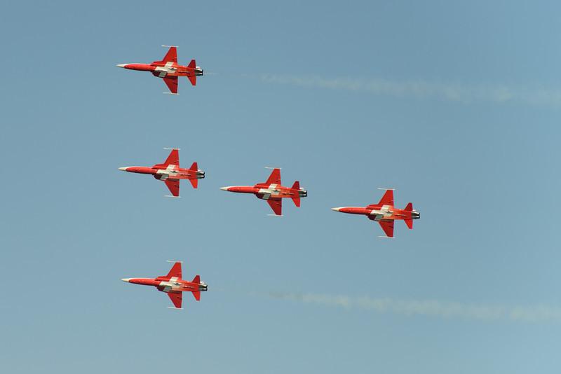 Patrouille Suisse formation