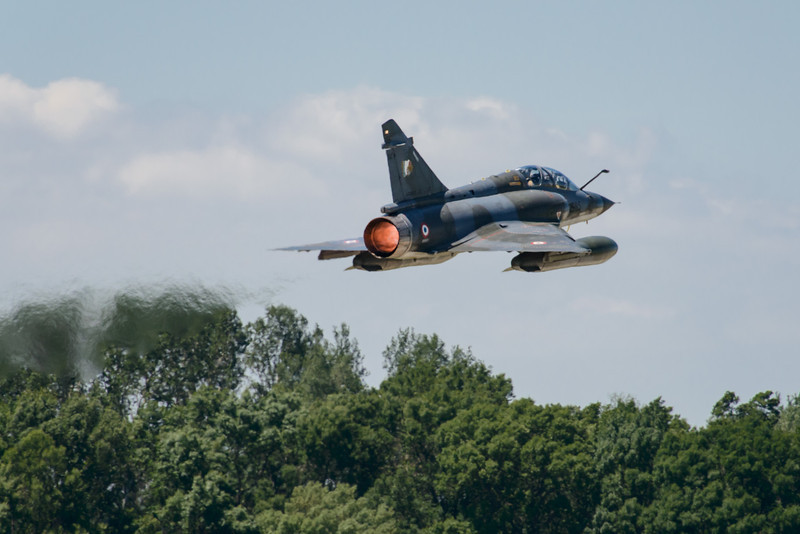 Mirage 2000 Full afterburner take-off