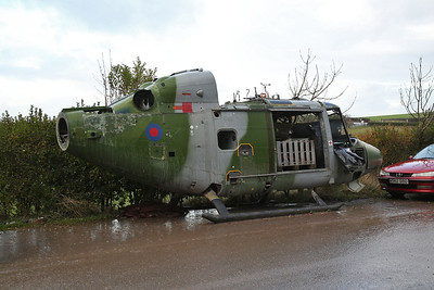 ex-AAC Westland Lynx AH.7, XZ173 (#6), Weeton near Blackpool - 30/11/18