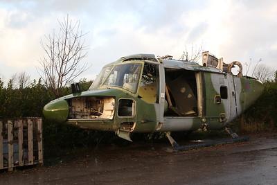 ex-AAC Westland Lynx AH.7, XZ655 (#3), Weeton near Blackpool - 30/11/18