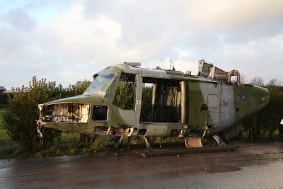 ex-Army Air Corps Lynxs at Weeton, 30th November 2018