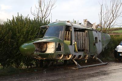 ex-AAC Westland Lynx AH.7, XZ673, Weeton near Blackpool - 30/11/18