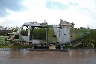 ex-AAC Westland Lynx AH.7, XZ648 (#7), Weeton near Blackpool - 30/11/18