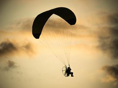 Sunset Parachute