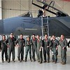 FB MooseCon 8 27 - 5 28 21 - photo 2 - Natalie and the pilots of the 104th Fighter Wing, the Barnestormers