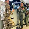 FB MooseCon 8 27 - 5 28 21 - photo 7 - TSgt Walter, 104th Fighter Wing Life Support, instructs Natalie in life support training