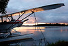 Piper Cub and Sunset at Lake Hood, Anchorage.  This image received an Honorable Mention in Aviation Week & Space Technology Magazine's 2005 Photo Contest.