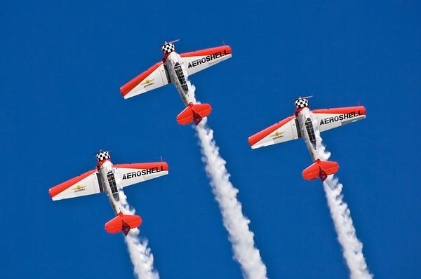 Aeroshell T-6 Texans.