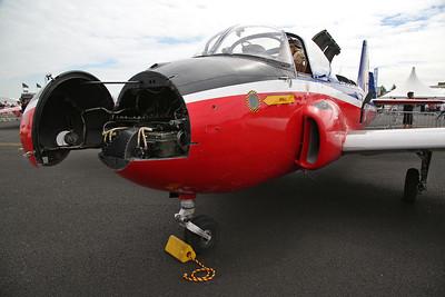 ex-RAF Hunting Jet Provost T.3, XN637, on static display - 22/07/18