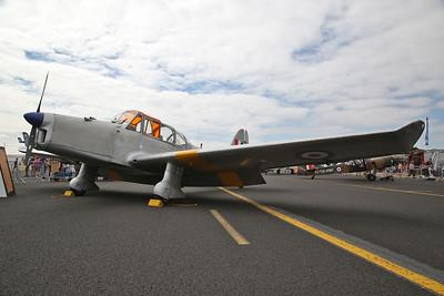 ex-RAF Percival Prentice T.1, 'VR259 / M' / G-APJB, on static display - 22/07/18