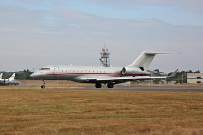 Bombardier Global 6000-BD-700-1A10, 9H-VJM, landing - 22/07/18