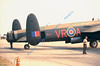 "This FM213 was recreated as ""VR-A,"" the ""Mynarski Memorial Lancaster"" in honour of Canadian VC winner, Andrew Mynarski."