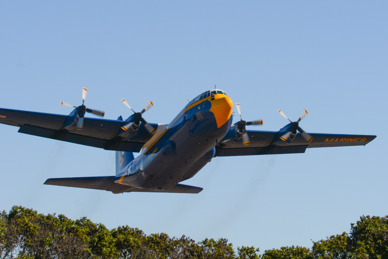 Fat Albert takes off!