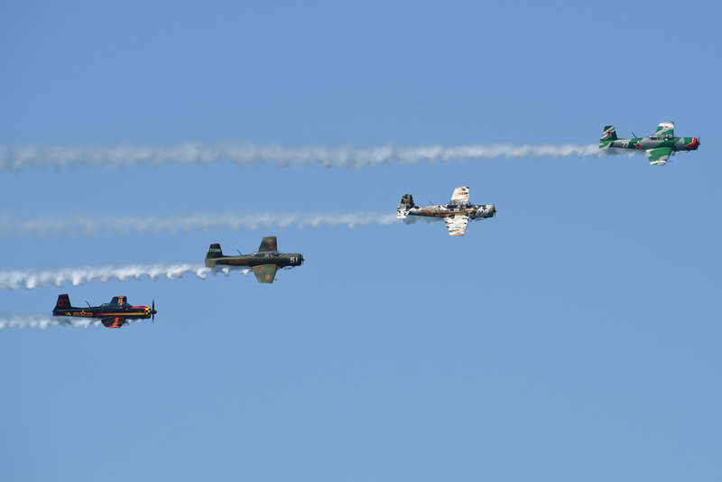 Red Star Pilots Formation Team