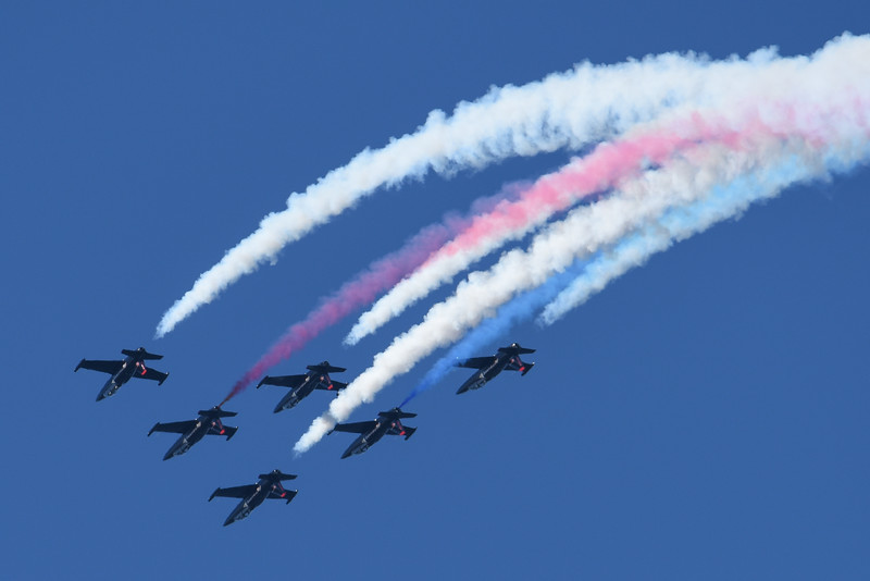 Patriots Jet Team at SF Fleet Week