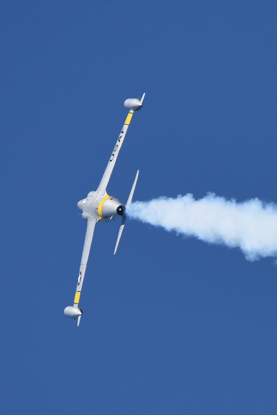 "Greg Colyer flying his T-33 ""Ace Maker II"""