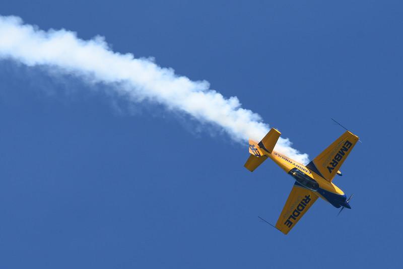 Matt Chapman flying the Embry-Riddle Aeronautical University Extra 330LX