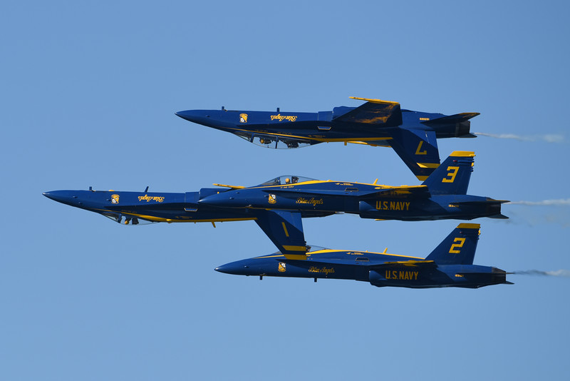 Blue Angels at SF Fleet Week