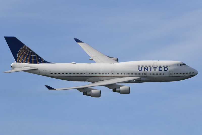 United 747-400 - SF Fleet Week 2016