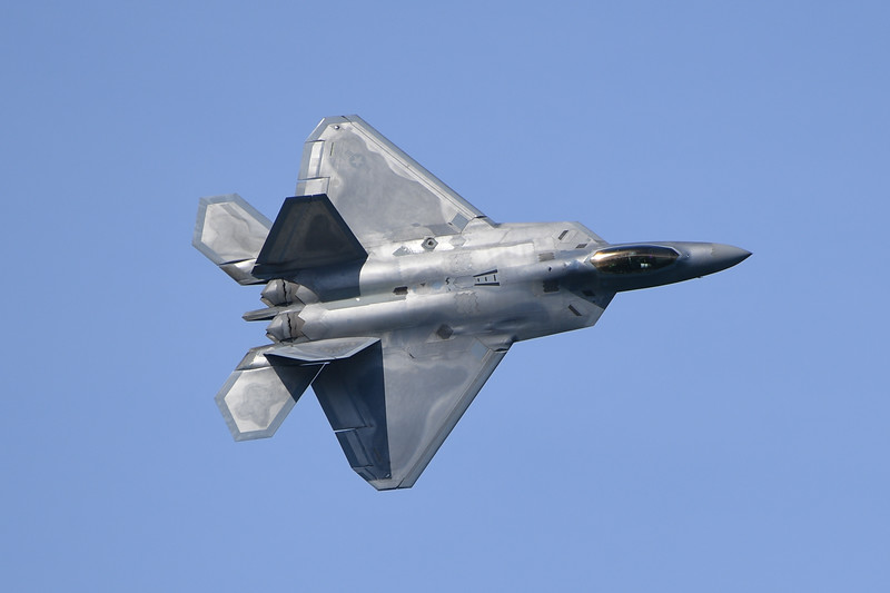 F-22A - SF Fleet Week 2016