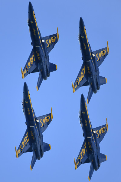 Blue Angels - SF Fleet Week 2016