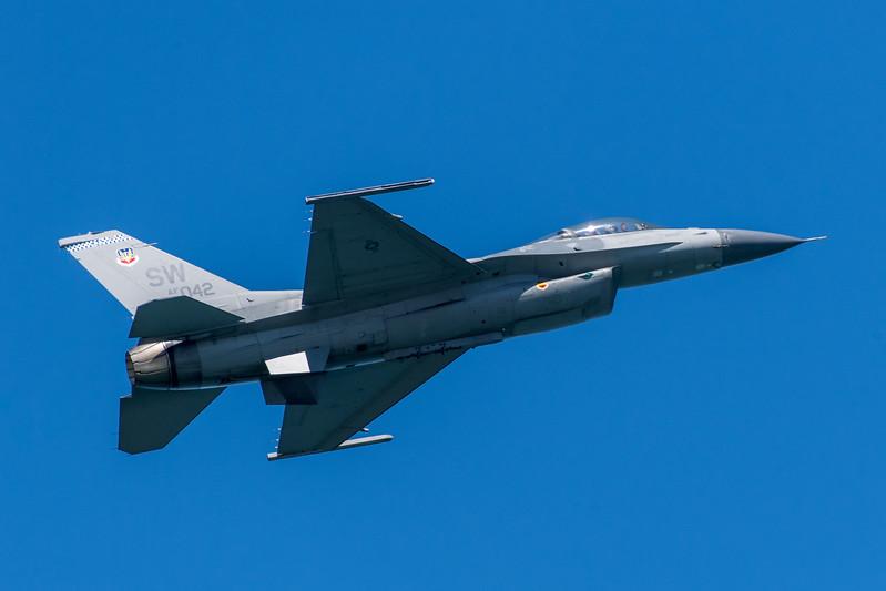 US Air Force F-16C - SF Fleet Week 2017