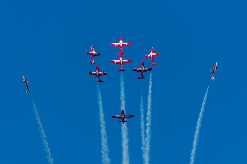 RCAF Snowbirds - SF Fleet Week 2017