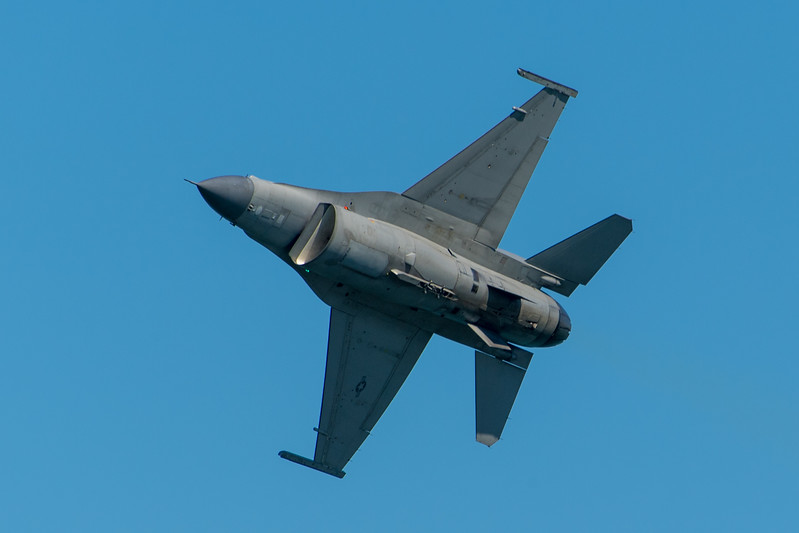US Air Force F-16C - SF Fleet Week 2017