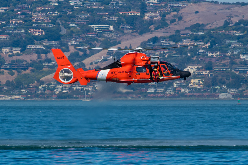 US Coast Guard HH-65 - SF Fleet Week 2017