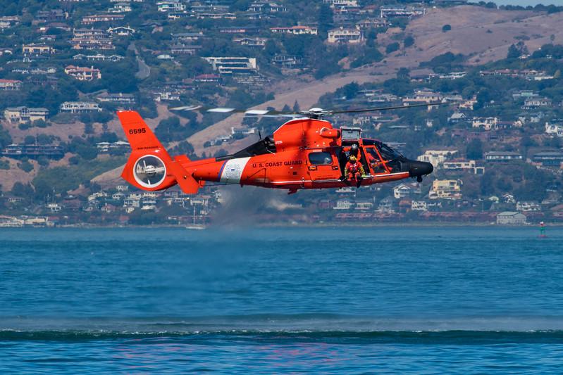 US Coast Guard HH-65 - SF Fleet Week 2017