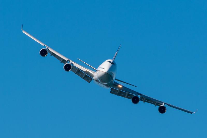United 747 - SF Fleet Week 2017