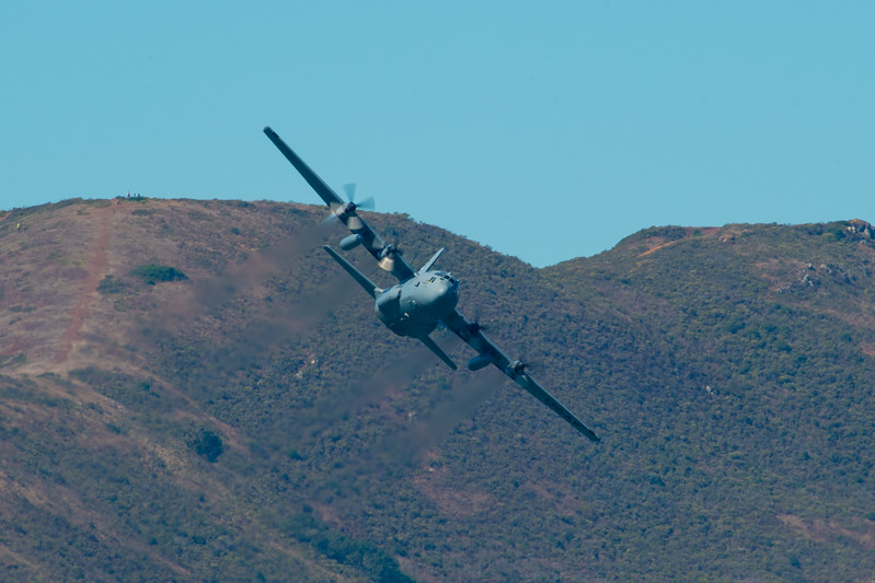 US Air Force C-130 - SF Fleet Week 2017