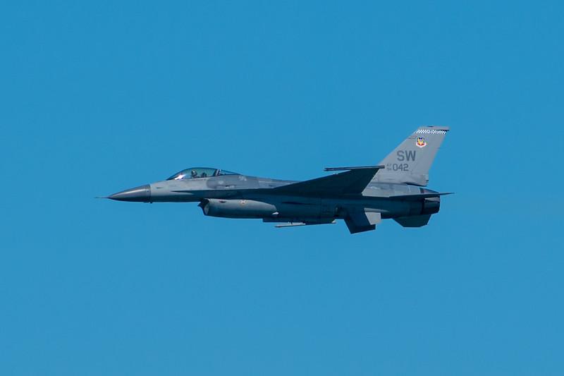 USAF F-16C - SF Fleet Week 2017
