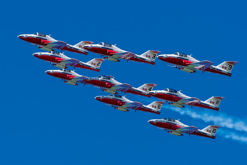 RCAF Snowbirds - SF Fleet Week 2017