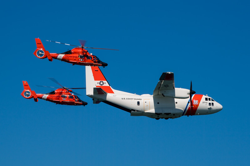 US Coast Guard - SF Fleet Week 2017