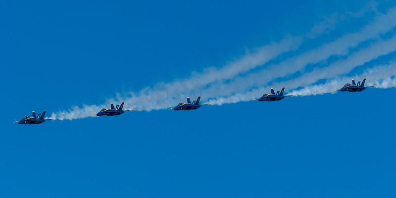 US Navy Blue Angels - SF Fleet Week 2017