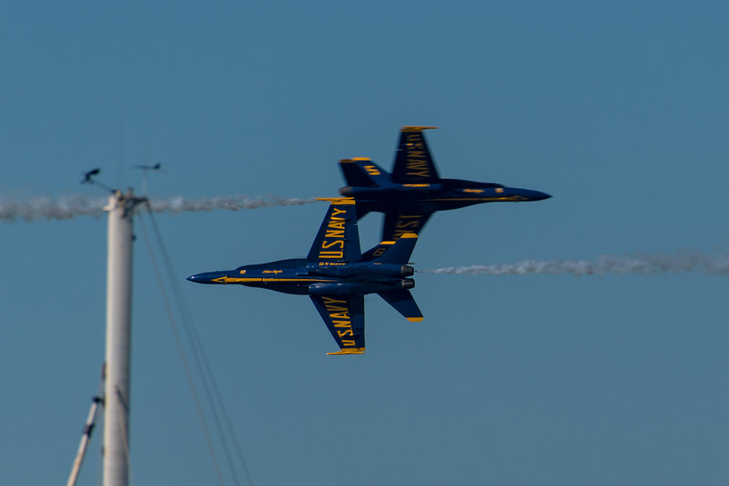US Navy Blue Angels - SF Fleet Week 2017