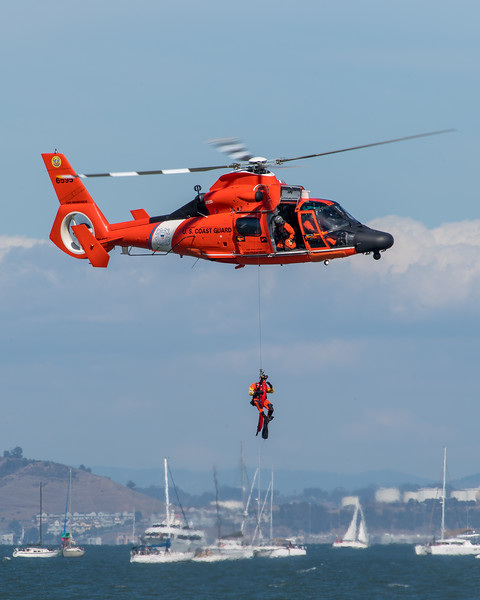 US Coast Guard HH-65C