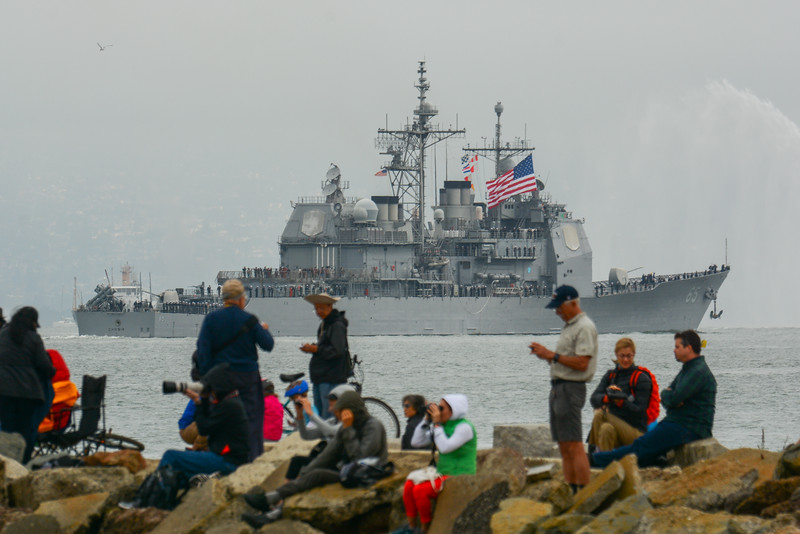 Parade of Ships - USS Chosin