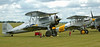 Gloster Gladiator I 'K7985' / G-AMRK & Hawker Nimrod II K3661 / G-BURZ, Duxford, 13 July 2008