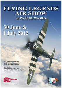 The Poster for 2012's Flying Legends hosted by The Fighter Collection. http://www.fighter-collection.com/  The star of the show will be the first display's of the newly restored P-47G Thunderbolt. One of only two restored to flight.