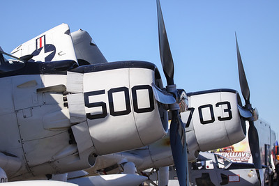 Douglas A-1 (AD) Skyraiders