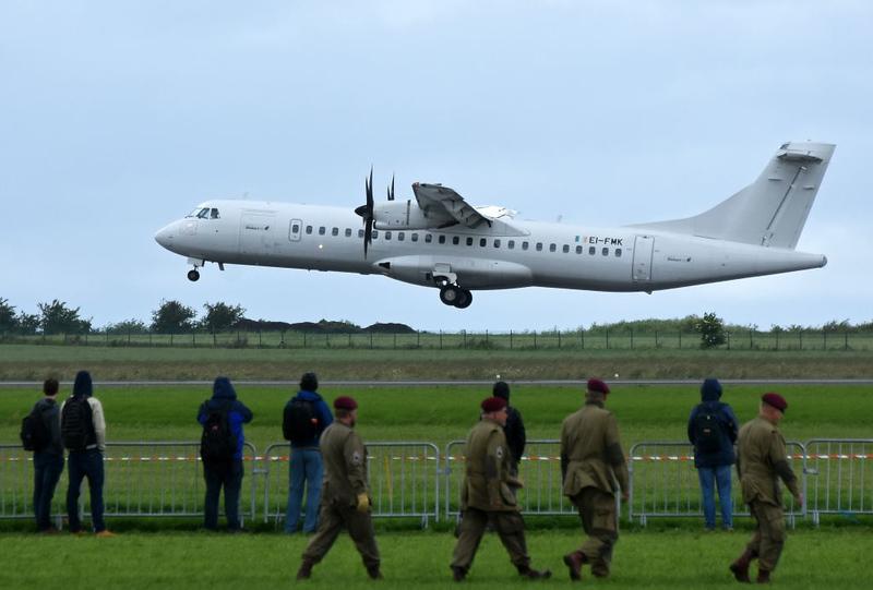 Stobart Air ATR 72 EI-FMK, Carpiquet airport, Caen, 7 June 2019 2.