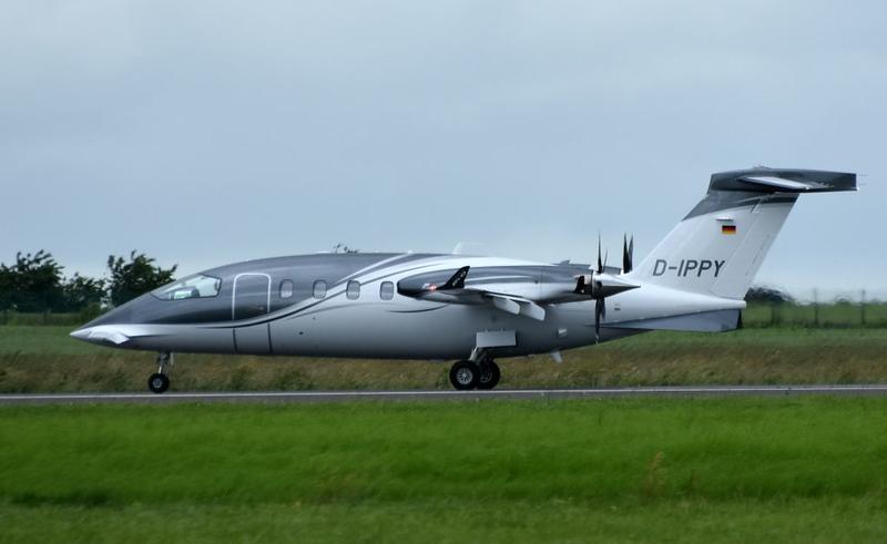 Piaggio Avanti II D-IPPY, Carpiquet airport, Caen, 7 June 2019.