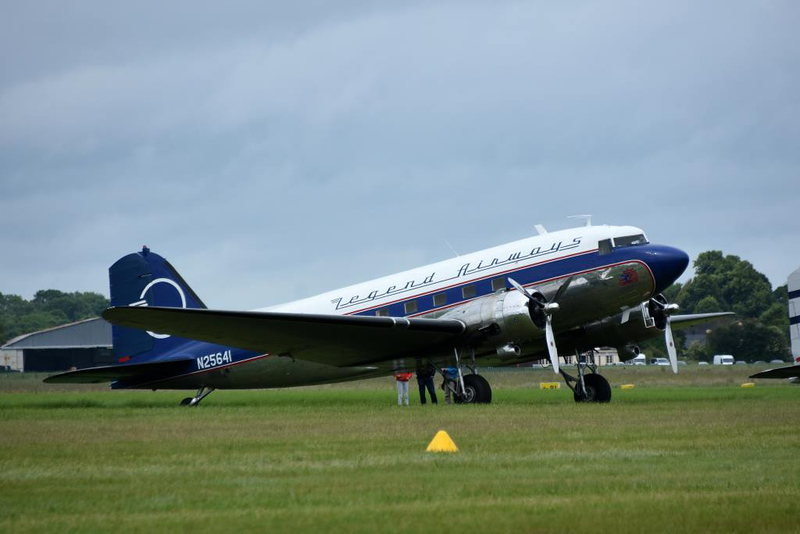 Douglas DC-3C 42-32833 as Legend Airways N25641 Liberty, Carpiquet airport, Caen, 7 June 2019 1.  D-Day veterasn.